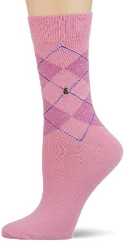 Burlington Damen Neon Pixel Queen Socken, rosa (orchid smoke 8725), 36-41
