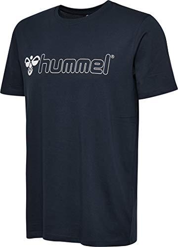 Hummel Herren HMLLUKE T-shirts Dunkelblau Iris, L