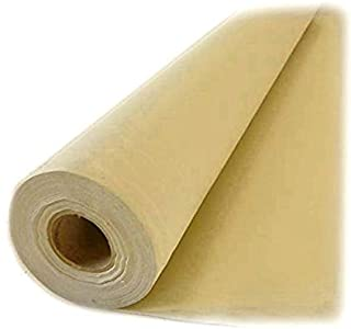 Forro de cortina térmico de Aesthetex, opaco, ideal para cortinas y persianas (tela por metros), tela, crema, 2 m