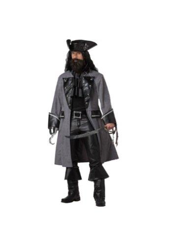 Adult Blackbeard the Pirate Costume - Large