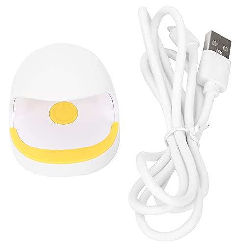 Lámpara para secador de uñas, Mini lámpara de uñas fácil de llevar Carga USB para el hogar para manicura DIY