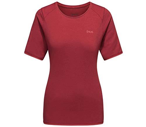 PYUA Mellow Femmes Haut Fonctionnel XS Rouge XS