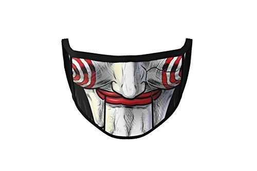 Dilara Masken mit Motiv - Lustige Masken für Gesicht aus Baumwolle (Saw)