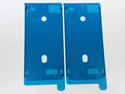 iPhone用防水テープ パネル交換修理用 液晶パネル交換 ステッカー 防水 フレーム接着剤 スクリーン LCD 接着 フロントパネル用シーラントグルー 2枚入り (iPhone7 Plusホワイト)