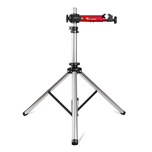 Bike Repair Stands Adjustable amp Foldable Bicycle Maintenance Rack Workstand for Home Mechanics 85lbs Extensible Tripod Base Park Tool Repair Stand for Road amp Mountain Bikes with Storage Bag