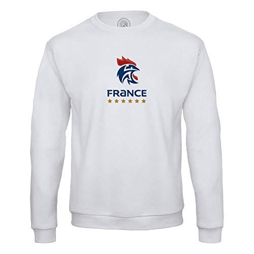 Sweat Shirt Homme Blason France Handball Equipe National Embleme Sport