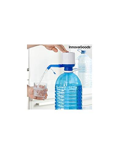 InnovaGoods Distributeur d'eau pour bidons XL Watler, Bleu et Blanc, 8 x 16,5 x 18 cm