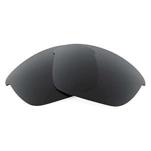 Revant Replacement Lenses for Oakley Half Jacket 2.0, Non-Polarized, Stealth Black