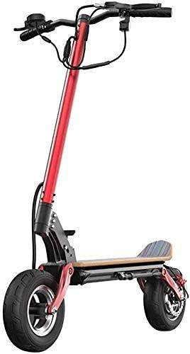 LLKK Scooter universal eléctrico adulto potente 2000 W máquina eléctrica doble rango de 40 millas, hasta 40 km / h plegable portátil, diseño ligero control de crucero, adecuado para adultos