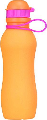 Zielonka Silikon Trinkflasche Viv Bottle 3.0, Orange, 500 ml, 59847