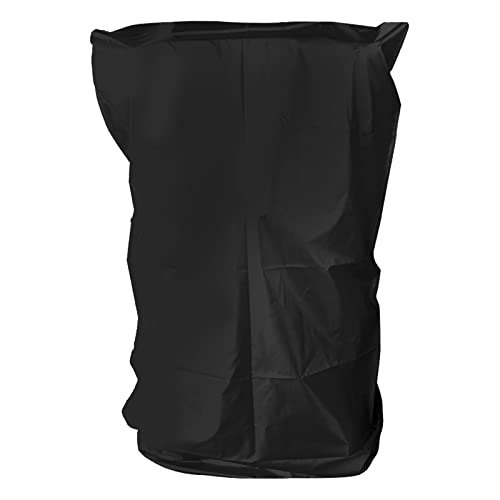 Hellery Cubierta Plegable de Cinta de Correr Máquinas para Correr, Cubierta de Almacenamiento a Prueba de Cinta a Prueba de Correr Cubi - Black_91x91x152cm
