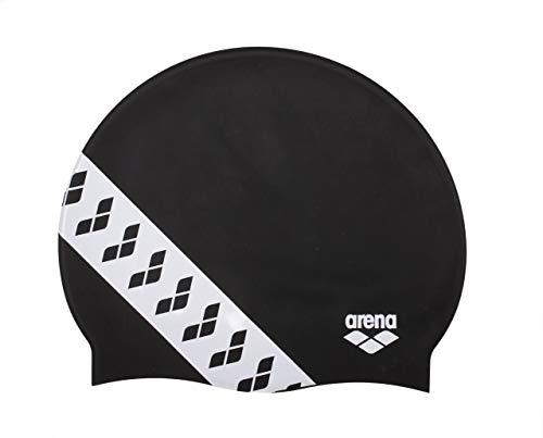 ARENA Team Stripe Cap, für Erwachsene Einheitsgröße Schwarz (Black)