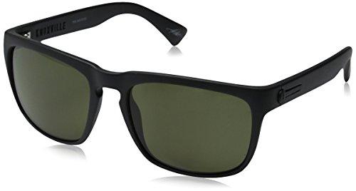 Electric California Knoxville Polarized Wayfarer Sunglasses, Matte Black, 164 mm