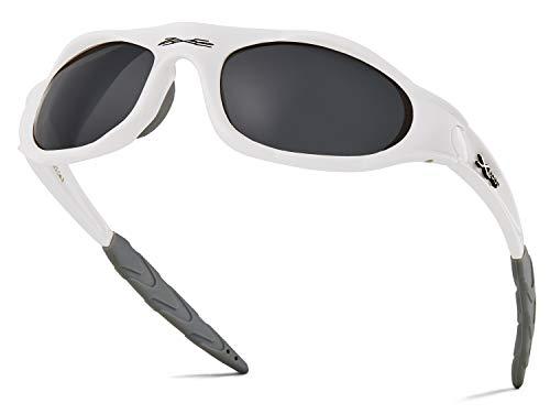 X LOOP Teen Baseball Sunglasses for Boys 8-16 - Stylish Wrap Around Teen Sunglasses Girls Age 10 - Teenager Sun Glasses for Softball and Cycling - Lightweight Teen Boy and Girl Sunglasses for Sports