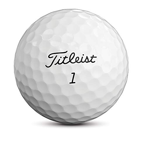 Titleist Pro V1 Golf Balls, White, Standard Play Numbers (1-4), One Dozen