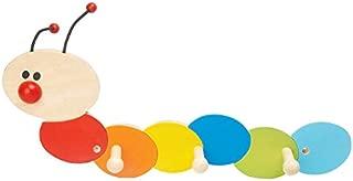 lyrlody Porta Asciugamani in bamb/ù,Appendiabiti da Bagno con 8 Gancio,Appendiabiti a Parete con Ripiano Portaoggetti,per Ingresso,Corridoio Camera da Letto Bagno Soggiorno,50.1 16.2 20cm