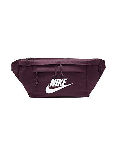 Nike Tech Hip Bag Gürteltasche Waistbag (Maroon/White, one Size)
