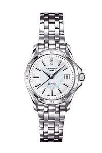 Certina Damen-Armbanduhr XS Analog Quarz Edelstahl C004.210.61.116.00