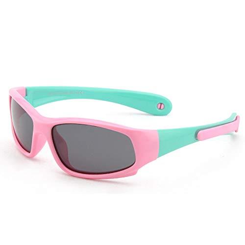 Gafas de Ciclismo para niños - V400 Gafas de Sol polarizadas para...