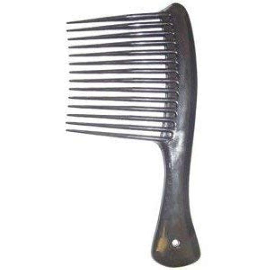 排他的一回等価Large Tooth Shampoo Detangling Comb Rack Hair Comb (Black) [並行輸入品]