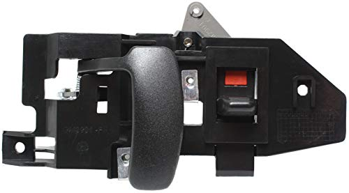 Interior Door Handle compatible with EXPRESS/SAVANA VAN 96-15 Front RH Inside Black (Zinc) (=Rear RH - Side Hinged/Back Dr)