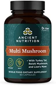 Ancient Herbals Multi Mushroom Whole Food Dietary Supplement Immune Support with 2 Billion CFU product image