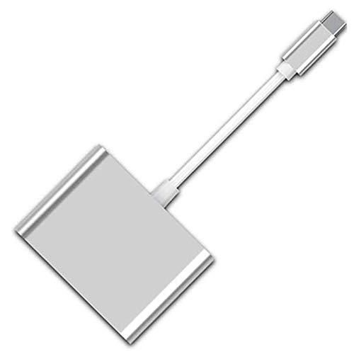 CareMont Lector de Tarjetas USB C, OTG USB para Mecanografiar C Lector de Tarjetas Adaptador Lector de Tarjetas de Memoria