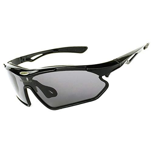 Gafas De Sol Deportivas Polarizadas Gafas De Ciclismo para Mujer para Hombre Anti UV400 TR90 Irrompible Béisbol Al Aire Libre Correr Pesca Golf Conducir Gafas,C1