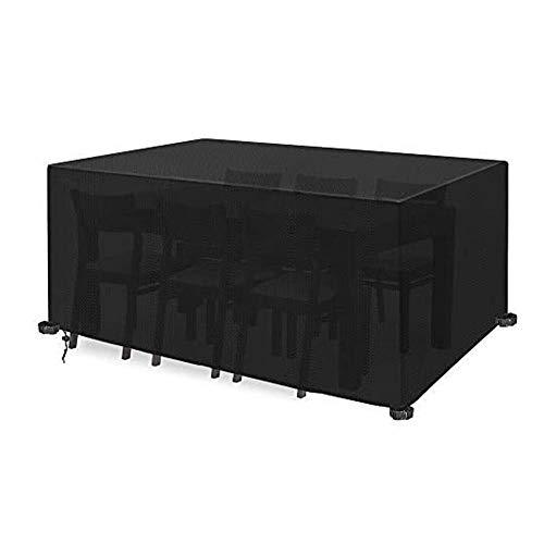 LYP Funda para Muebles de Jardín Cubiertas de Muebles de jardín, Cubiertas de Muebles al Aire Libre Impermeable a Prueba de Viento 420D Tela de Patio Anti-UV de Tela Anti-UV para Patio, al Aire Libre