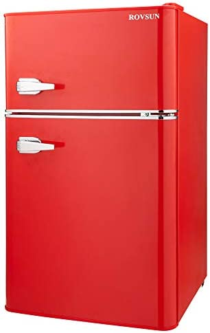 Top 10 Best red fridge Reviews