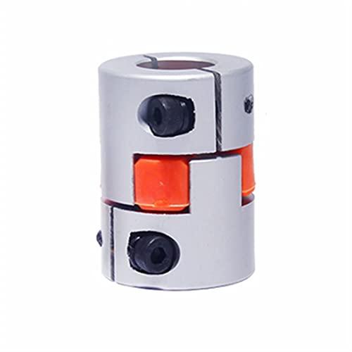 Basic Cellphone Cases Piezas CNC Acoplador Tres Jaw D20L25 Eje Flexible de Aluminio para Conector de Motor 4/6 / 6.35/8/10 / mm (Inner Diameter : 6.35x6.35)