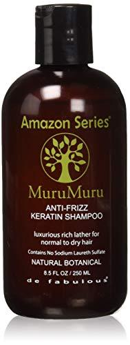 Amazon Series Murumuru Anti-Frizz Keratin Shampoo, 8.5 Ounce