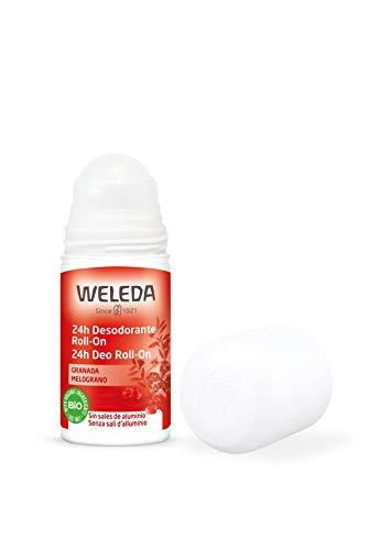 Weleda babyshampoo deodorant roll-on sensuele geur granaatappel - 50 ml