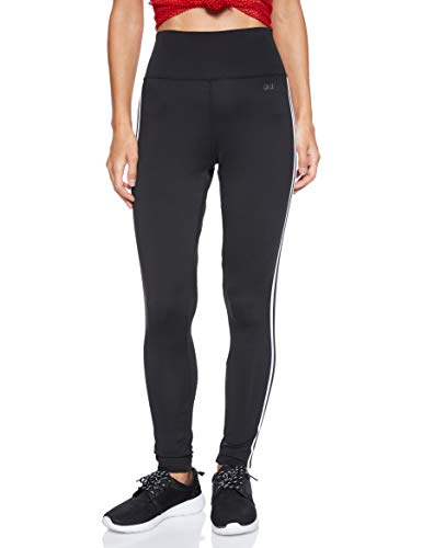 adidas 3 Streifen D2M Damen 34 Fitness Sport Tight Hose