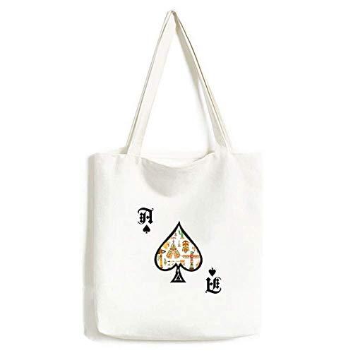 Totem Indianer-Traumfänger, Handtaschen-Handwerk, Pokerspaten, waschbare Tasche