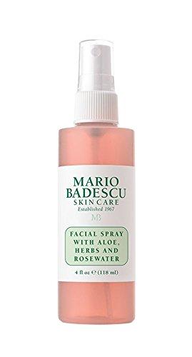 Mario Badescu Spray facial con ALOE, hierbas y agua de rosa, 118 ml.