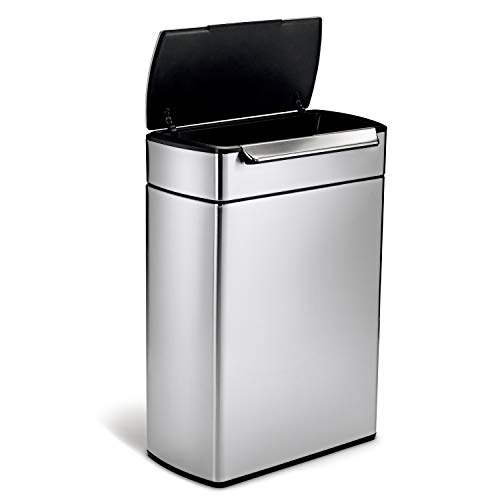 SimpleHuman Balde do Lixo para Reciclar Touch-bar 24+24L - A21124640