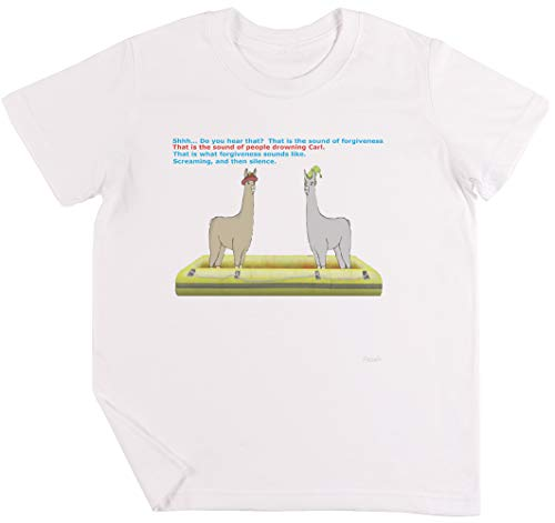 Vergebung Kinder Jungen Mädchen Unisex T-Shirt Weiß