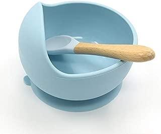 Color Azul LyGuy para beb/és y ni/ños Cuchara t/érmica de Silicona con Sensor de Calor