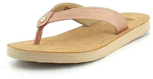 UGG Damen Tawney Metallic Sandale, Black, 39 EU