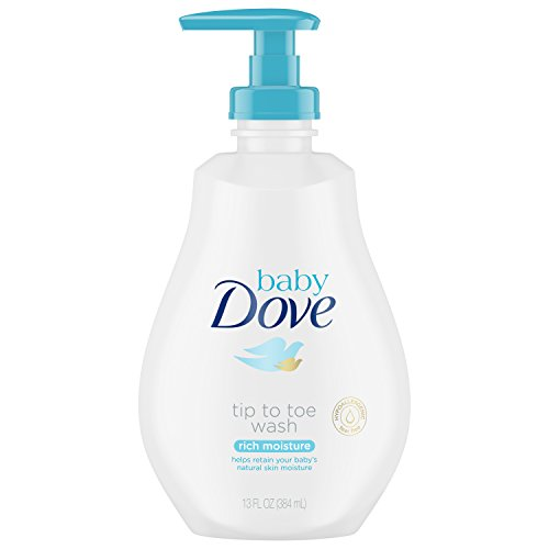 Dove Baby Wipes Rich Moisture, 50 Wipes (12 Pack)