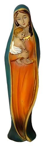 Kaltner Präsente Geschenkidee - Deko Figur Madonna Mutter Gottes Maria mit Jesus Christus Kind