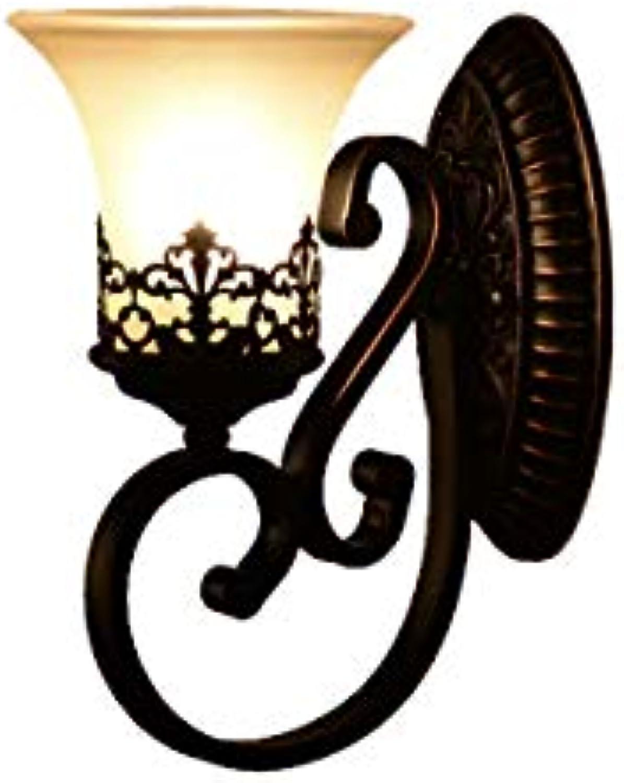 Chenjinxiang Wandleuchte, warme Arbeitszimmer-Schlafzimmer-Wandlampe, Nachtwandleuchte (Einzel- und Doppelkopf optional) Gesundheits- und Umweltschutz (Edition   Three Farbes-Single head)