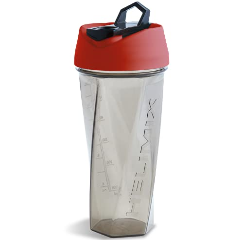 Helimix Vortex Blender Shaker Bottle 28oz   No Blending Ball or Whisk   USA Made   Portable Pre Workout Whey Protein Drink Shaker Cup   Mixes Cocktails Smoothies Shakes   Dishwasher Safe