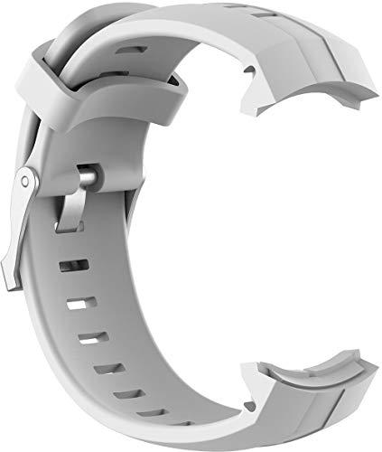 Shieranlee Watch Strap for Ambit3 Vertical Cinturino, Soft Silicone Band Replacement Cinturino per SUUNTO Spartan Sport Ambit3 Vertical