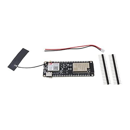 FSLLOVE FANGSHUILIN Llama V1.3 ESP32 Módulo de comunicación inalámbrica FPC Antena SIMULACIÓN Tarjeta SIM800L WiFi Bluetooth (Color : Black)