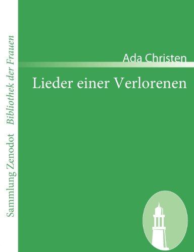 Lieder einer Verlorenen (Sammlung Zenodot\bibliothek Der Frauen)