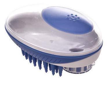 Nouveau! Brosse de toilettage massante Silicone pour Chien et Chats. Distributeur de shampooing intégré. Toilettage à Domicile ou Salon.