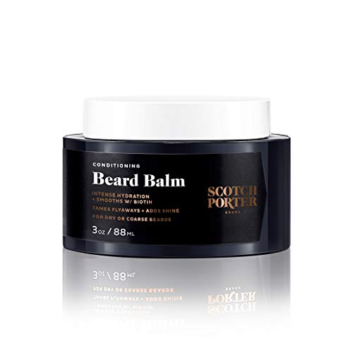 Scotch Porter Conditioning Beard Balm for Men | Hydrates, Smooths,...