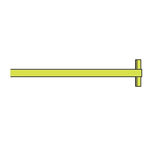 New Order Shelf Mittelstück, gelb 100x34x2.3cm